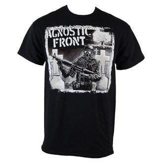 tričko pánske Agnostic Front - Gasmask - Black - RAGEWEAR, RAGEWEAR, Agnostic Front