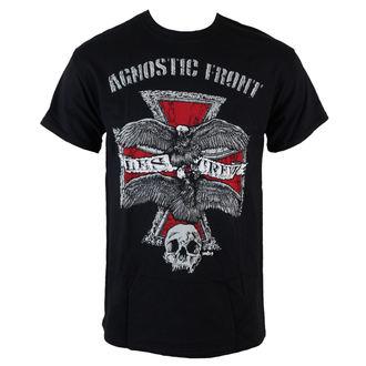 tričko pánske Agnostic Front - Les Crew - Black - RAGEWEAR, RAGEWEAR, Agnostic Front