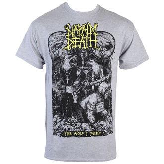 tričko pánske Napalm Death - Wolf - RAGEWEAR, RAGEWEAR, Napalm Death