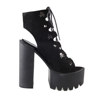topánky dámske BANNED - Platform Lace - Black, BANNED