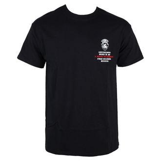 tričko pánske Terror - Conviction - Black - RAGEWEAR, RAGEWEAR, Terror