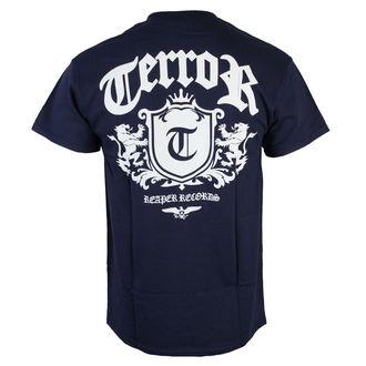 tričko pánske Terror - Lion Crest - Navy blue - RAGEWEAR, RAGEWEAR, Terror