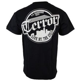 tričko pánske Terror - Skyline - Black - RAGEWEAR, RAGEWEAR, Terror