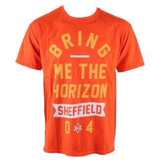 tričko pánske Bring Me The Horizon - Big Text - Orange - ROCK OFF, ROCK OFF, Bring Me The Horizon