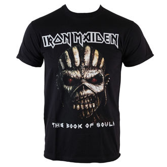 tričko pánske Iron Maiden - Book Of Souls - BLK - ROCK OFF, ROCK OFF, Iron Maiden
