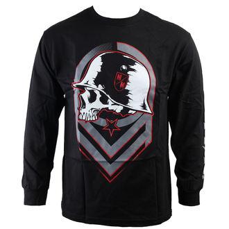 tričko pánske s dlhým rukávom METAL MULISHA - Rep - BLK