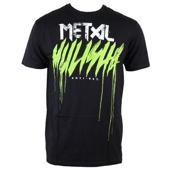 tričko pánske METAL MULISHA - Brush Drip - BLK