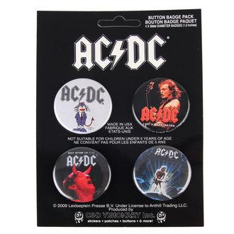 odznaky AC/DC - Logo, C&D VISIONARY, AC-DC