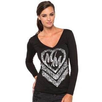 tričko dámske s dlhým rukávom METAL MULISHA - Cross My Heart, METAL MULISHA