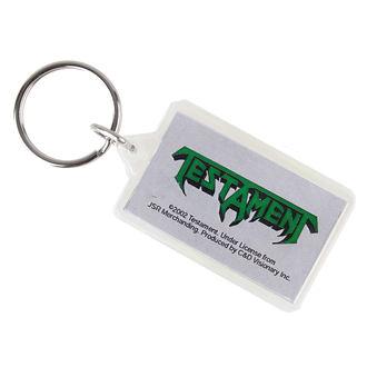 kľúčenka (prívesok) Testament - Logo, C&D VISIONARY, Testament