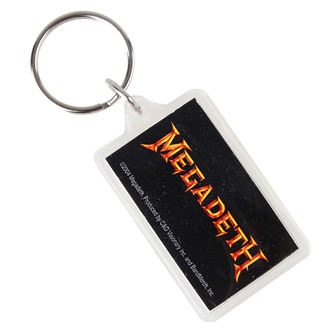 kľúčenka (prívesok) Megadeth - Logo, C&D VISIONARY, Megadeth