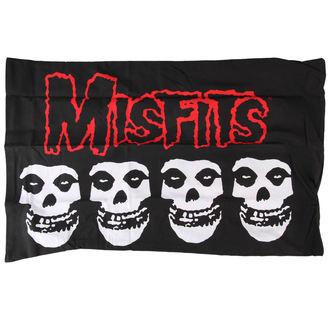 obliečky na vankúš Misfits - Logo & Skulls - PC-0038