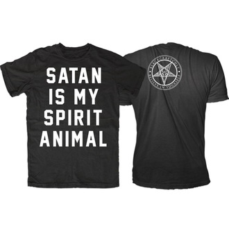 tričko pánske BLACK CRAFT - Satan Is My Spirit Animal - Black, BLACK CRAFT