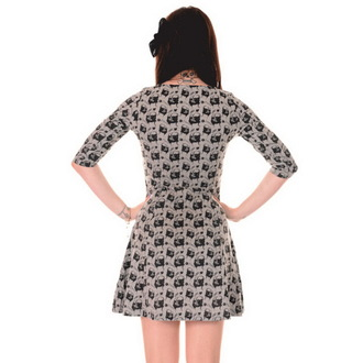 šaty dámske 3RDAND56th - Pug Face - Green / Melange, 3RDAND56th