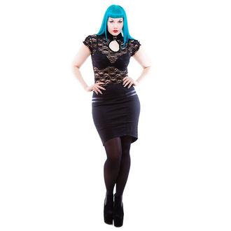 sukňa dámska NECESSARY EVIL - Gothic Corra - Black, NECESSARY EVIL