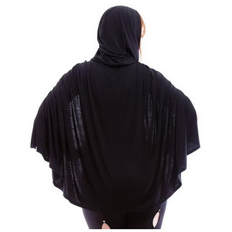mikina (paplón) dámska NECESSARY EVIL - Gothic Dunne - Black - N1221
