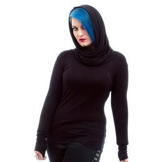 tričko dámske s dlhým rukávom NECESSARY EVIL - Gothic Dunne - Black, NECESSARY EVIL