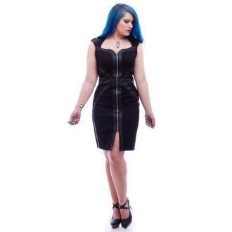 šaty dámske NECESSARY EVIL - Gothic Luna - Black, NECESSARY EVIL