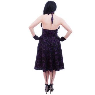šaty dámske NECESSARY EVIL - Feronia 50s - Black, NECESSARY EVIL