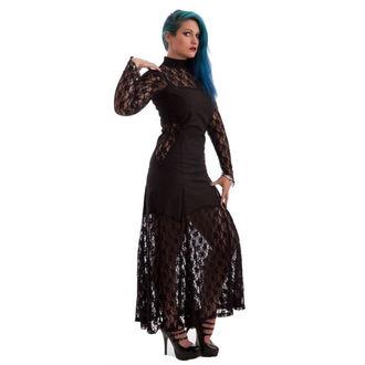 šaty dámske NECESSARY EVIL -Nefetari Twill - Black, NECESSARY EVIL