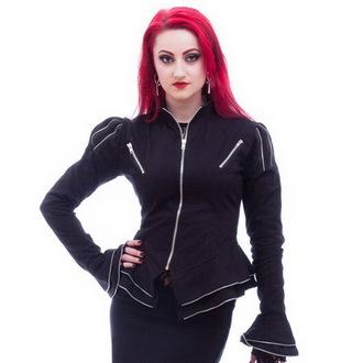 bunda dámska (kabátik) NECESSARY EVIL - Zaria - Black, NECESSARY EVIL