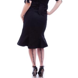 sukňa dámska NECESSARY EVIL - Damara Retro Tulip - Black, NECESSARY EVIL