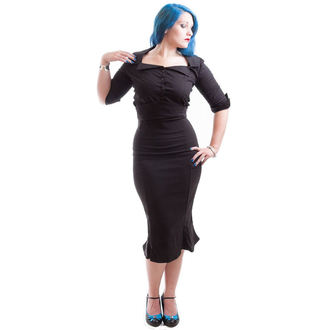 košele dámska NECESSARY EVIL - Belisama Poplin - Black, NECESSARY EVIL