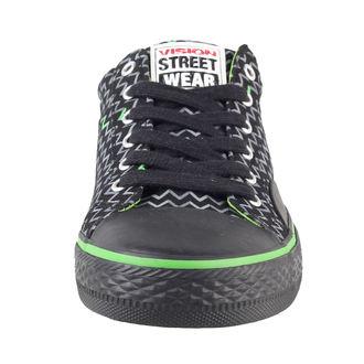 topánky dámske VISION - Canvas Lo - Black / Lime, VISION