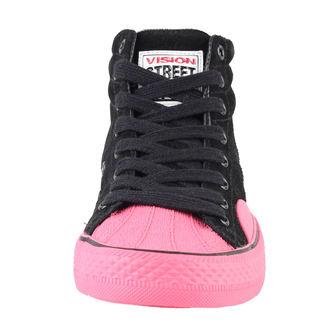 topánky dámske VISION - Suede HI - Black/Pink, VISION