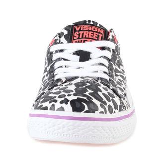 topánky dámske VISION - Canvas LO - Black / Cheetah, VISION
