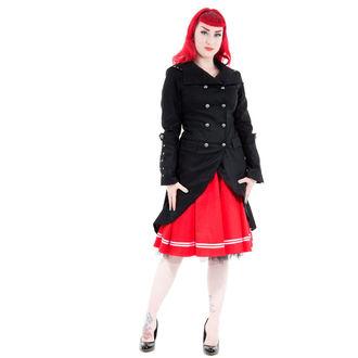 kabát dámsky jarno-jesenná HEARTS AND ROSES - Black Sassiness, HEARTS AND ROSES