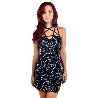 šaty dámske TOO FAST - Pentagram, TOO FAST