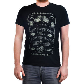 tričko pánske TOO FAST - Get Tattooed & Worship Sa, TOO FAST