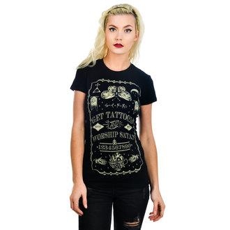 tričko dámske TOO FAST - Get Tattooed & Worship Sa, TOO FAST