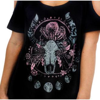 tričko dámske (top) TOO FAST - Cosmic Cow, TOO FAST
