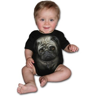 body detské SPIRAL - Pug Life - Black, SPIRAL