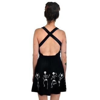 šaty dámske TOO FAST - Dancing Skeletons, TOO FAST