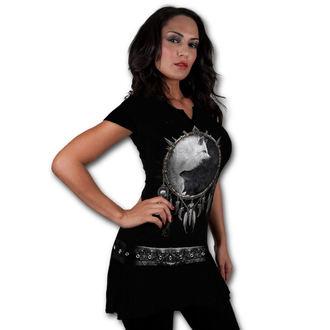 šaty dámske SPIRAL - Wolf Chi - Black, SPIRAL