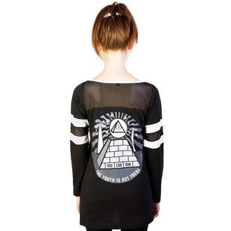 tričko dámske (tunika) DISTURBIA - Pyramid - Black, DISTURBIA