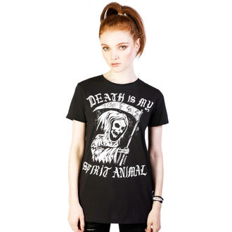 tričko dámske DISTURBIA - Spirit Animal - Black, DISTURBIA
