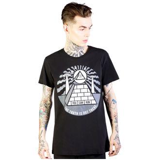 tričko pánske DISTURBIA - Pyramid - Black, DISTURBIA