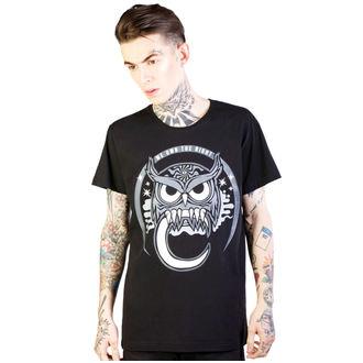 tričko pánske DISTURBIA - Owl - Black, DISTURBIA
