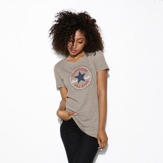 tričko dámske CONVERSE - AWT Core 2 - Grey - 12016C-035