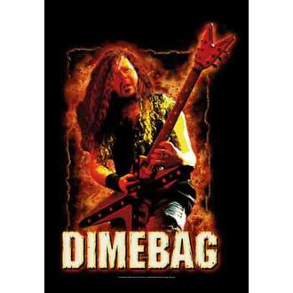 vlajka Dimebag Darrel - Fire, HEART ROCK, Dimebag Darrell