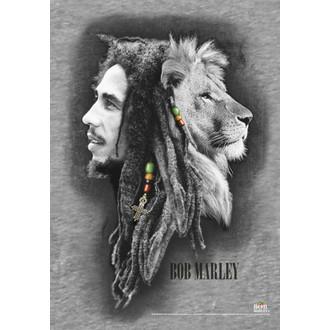 vlajka Bob Marley - Profily, HEART ROCK, Bob Marley