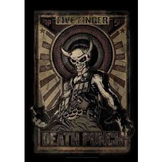 vlajka Five Finger Death Punch - Mercenary, HEART ROCK, Five Finger Death Punch