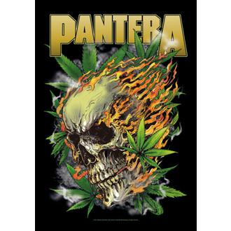 vlajka Pantera - Skull Leaf, HEART ROCK, Pantera