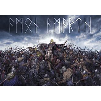 vlajka Amon Amarth - Battlefield, HEART ROCK, Amon Amarth