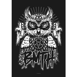 vlajka Bring Me The Horizon - Owl - HFL1068