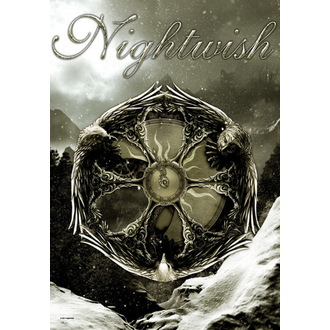 vlajka Nightwish - Emblem, HEART ROCK, Nightwish